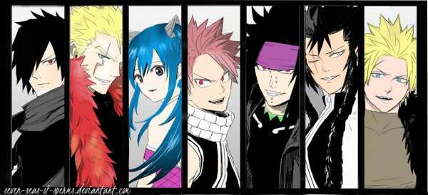 fairy_tail__seven_dragon_slayers__by_seven_seas_of_sperms-d77927h