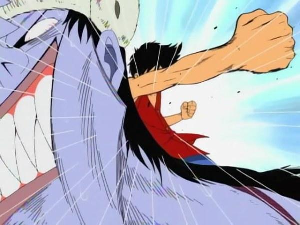 Luffy vs Arlong