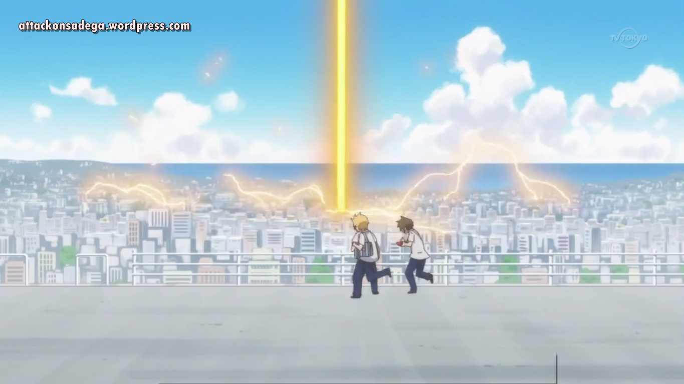 Review Anime Danshi Koukousei No Nichijou ATTACK ON SADEGA