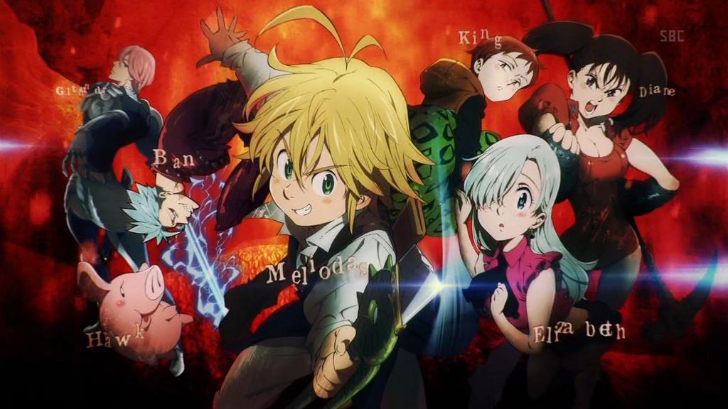 Nanatsu No Taizai Anime Promo
